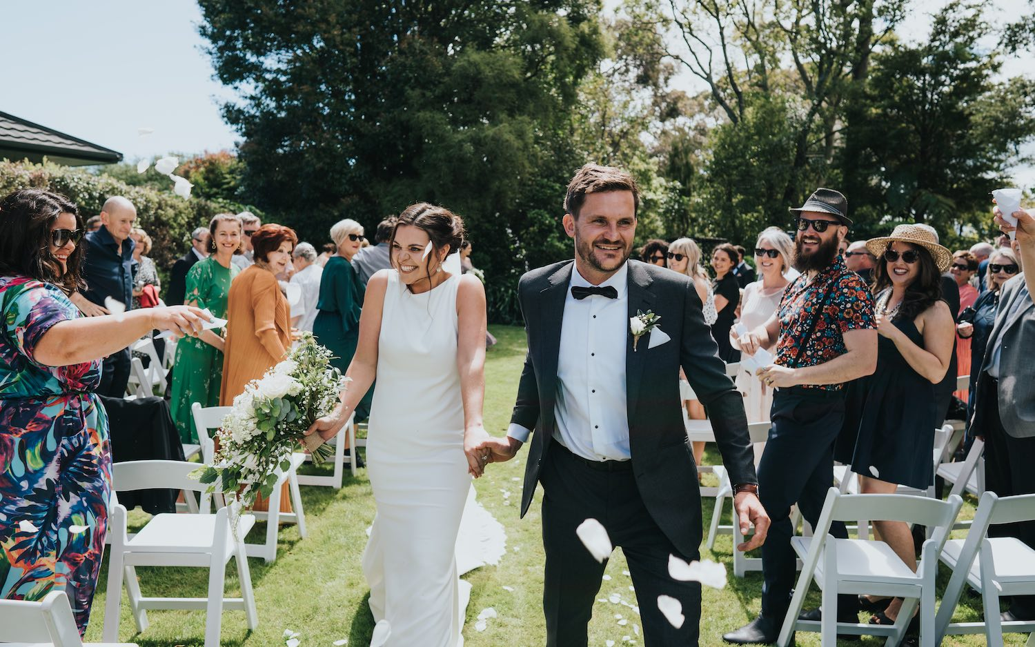 Beautiful Garden Wedding