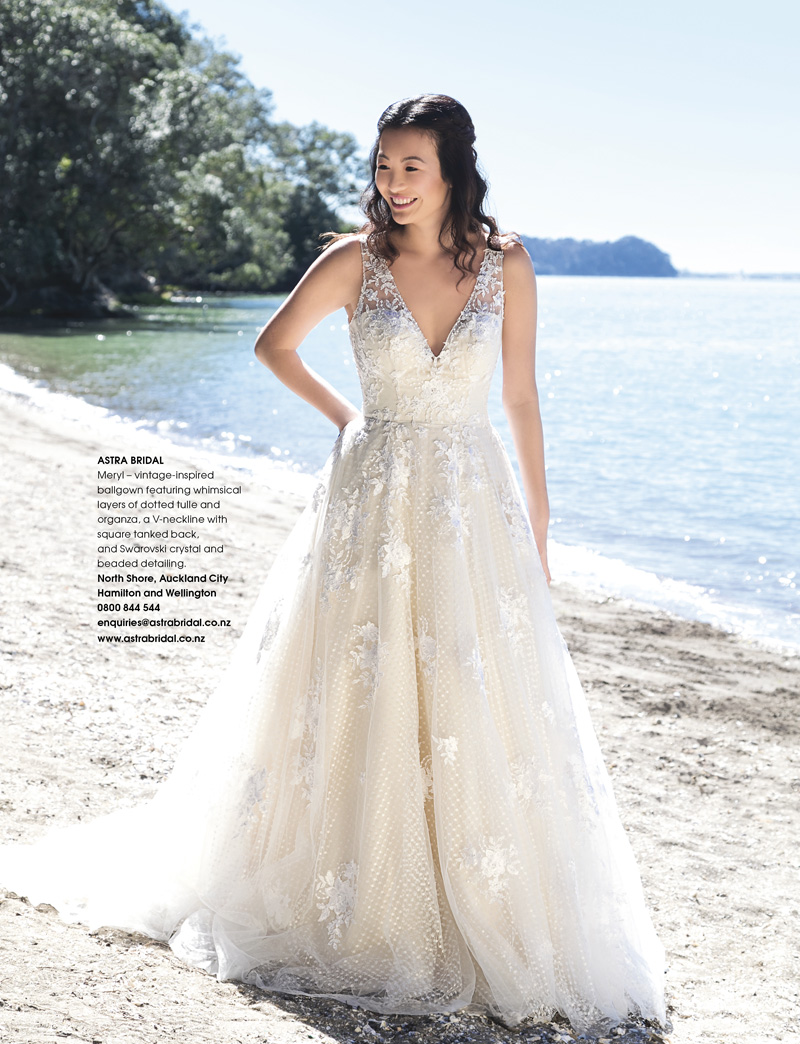 f9d789c96e0 Maggie Sottero Meryl. As featured in Bride and Groom magazine Issue 95