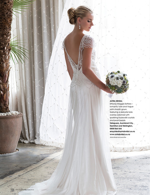 Maggie Sottero Ettia As Seen In Bride And Groom Magazine