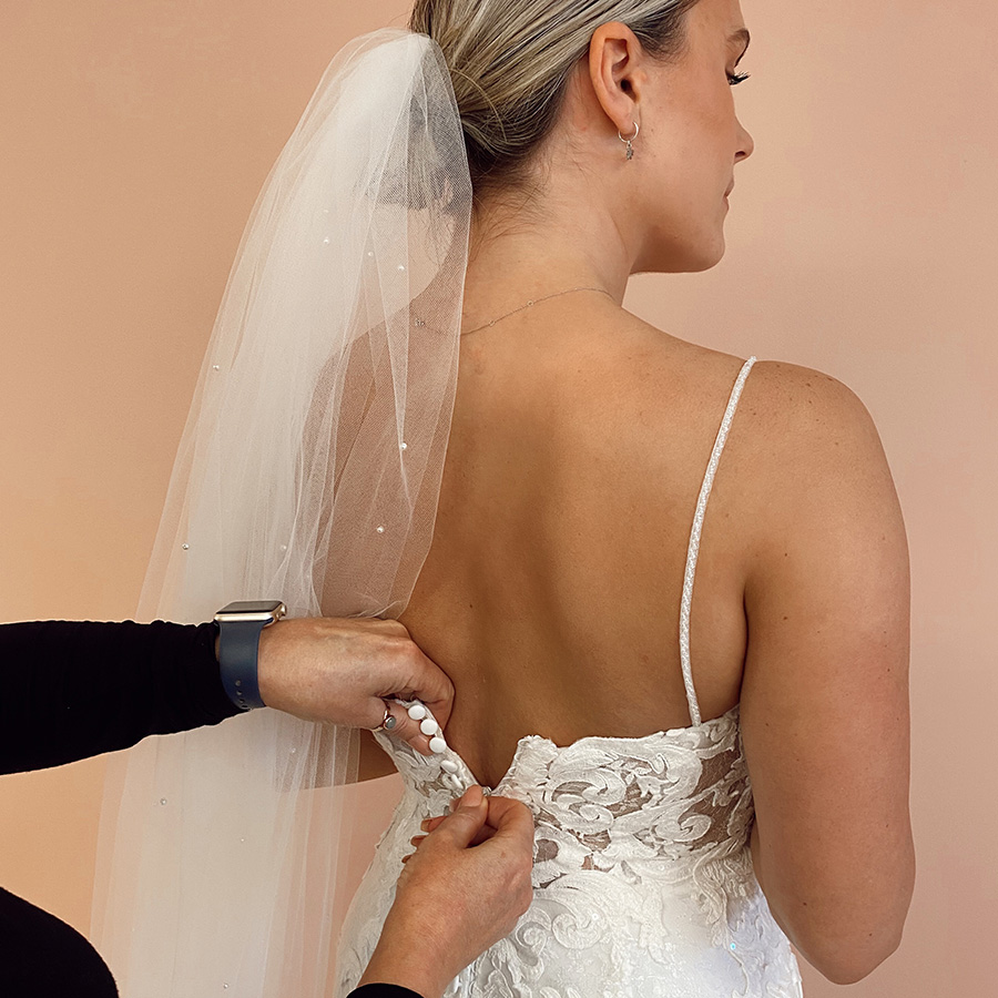 Book a time with a Bridal Stylist