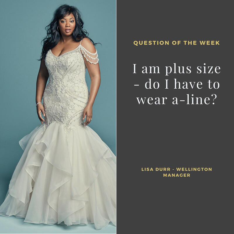 I am plus size - do I have to wear A line?<br>