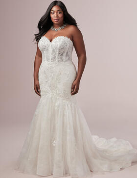 Astra Bridal Plus Size Wedding Dresses for Curvy Brides
