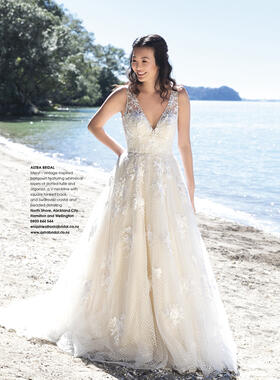 As featured in Bride and Groom magazine Issue 95