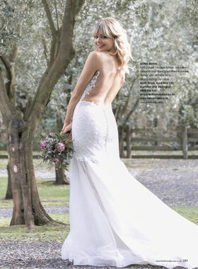 As featured in Bride and Groom Magazine Issue 97