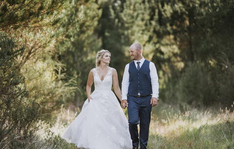 Rustic Lakefront Wedding at Braxmere Lodge