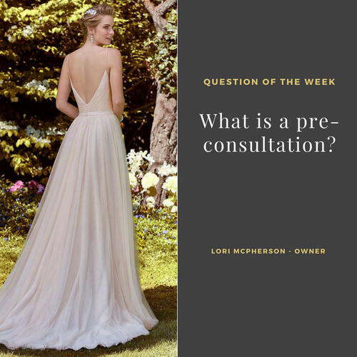 What is a Pre Consultation?<br>